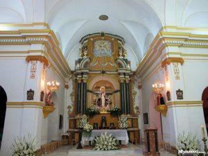 Altar  de la Iglesia  Ntra. Sra. del Rosario